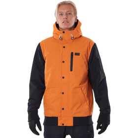 Rip Curl Traction Chaqueta Hombre, burnt orange